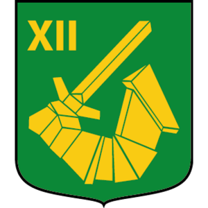 Coat of arms (crest) of the 1912th Armoured Rifle Company, 191st Mechanized Battalion, Norrbotten Regiment, Swedish Army