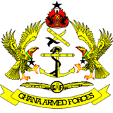 Arms (crest) of Military Heraldry of Ghana