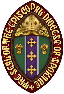 Arms (crest) of Diocese of Spokane, Washington and Idaho