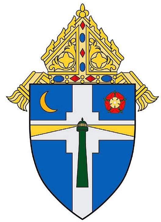 Arms (crest) of Diocese of Victoria in Texas