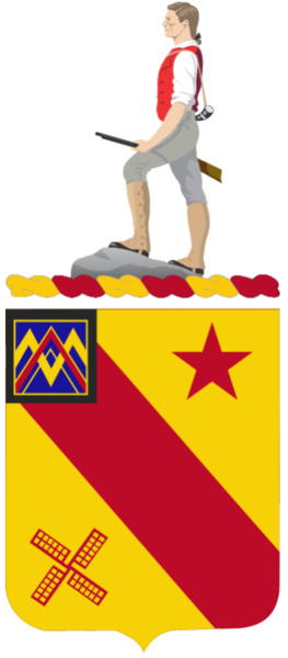 Arms of 303rd Cavalry Regiment, US Army