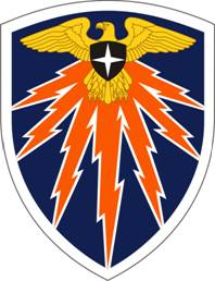 Arms of 7th Signal Command, US Army
