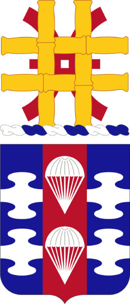 Arms of 82nd Support Battalion, US Army
