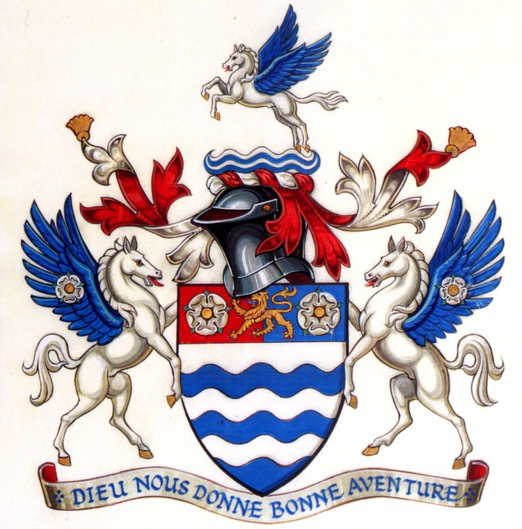 Arms of Company of Merchant Adventurers of the City of York