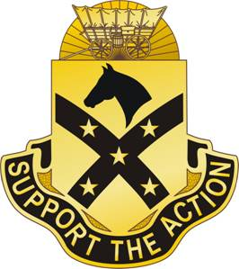 Arms of 15th Sustainment Brigade, US Army