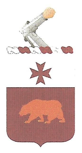 Arms of 201st Support Battalion, US Army