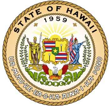 Arms (crest) of Hawaii