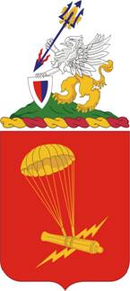 Arms of 377th Field Artillery Regiment, US Army