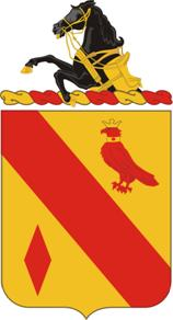 Arms of 19th Field Artillery Regiment, US Army