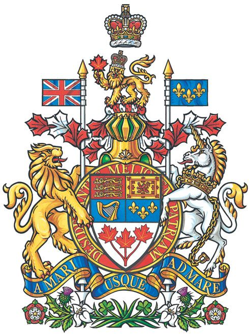 Arms of National Arms of Canada