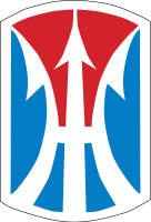 Arms of 11th Infantry Brigade Combat Team, US Army
