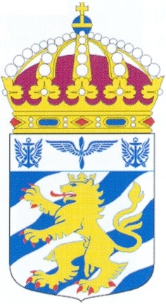 Coat of arms (crest) of the Göta Helicopter Battalion, Sweden