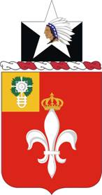 Arms of 12th Field Artillery Regiment, US Army