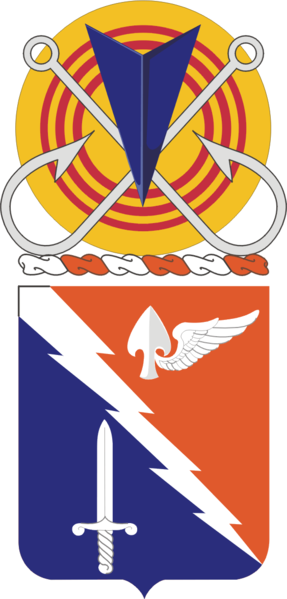Coat of arms (crest) of the 229th Aviation Regiment, US Army