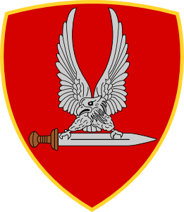 Coat of arms (crest) of the Army Special Forces Command, Italian Army