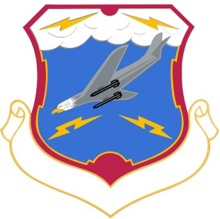 Coat of arms (crest) of the 27th Air Division, US Air Force