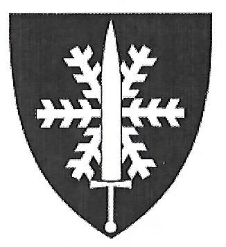 Coat of arms (crest) of the Defence Forces Winter School, Norway