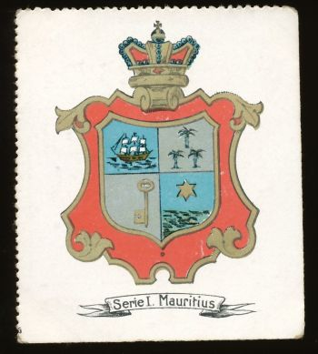 The National Arms of Mauritius