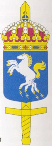 Coat of arms (crest) of the Defence Forces Logistics, Sweden