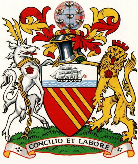 Arms (crest) of Manchester