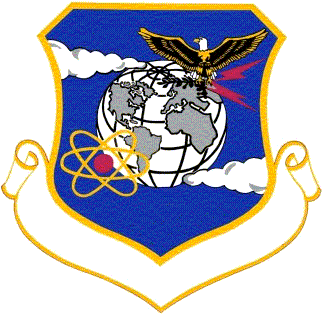 Coat of arms (crest) of the 817th Air Division, US Air Force