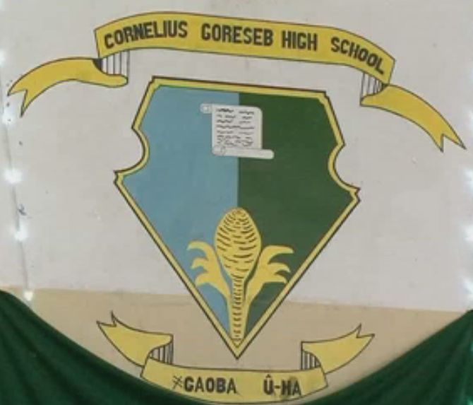 Coat of arms (crest) of Cornelius Goreseb High School