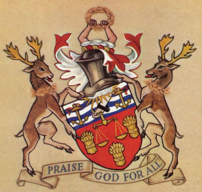 Arms of Worshipful Company of Bakers