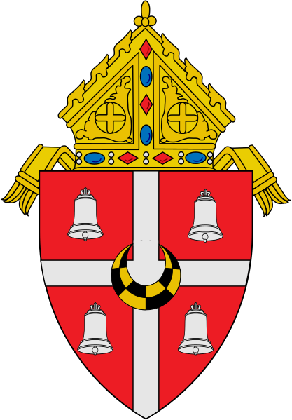 Arms (crest) of Diocese of Alexandria in Louisiana