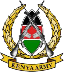 Arms (crest) of Military heraldry of Kenya