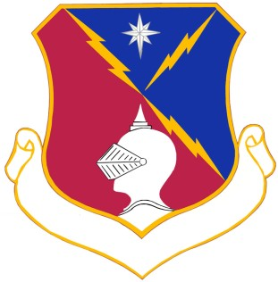 Coat of arms (crest) of the 65th Air Division, US Air Force