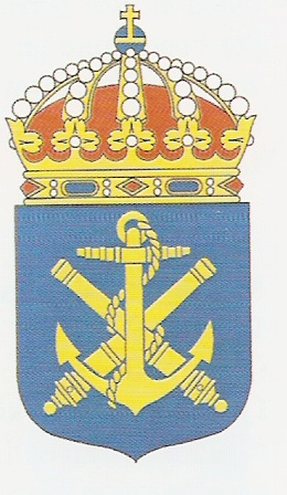 Coat of arms (crest) of the Naval Tactical Command, Swedish Navy