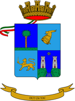 Coat of arms (crest) of the Mountain Artillery Group Agordo, Italian Army
