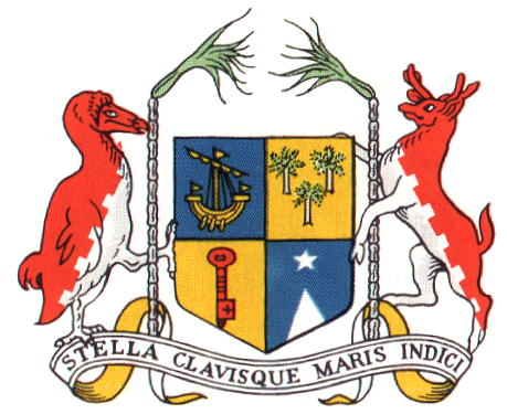 Arms of The National Arms of Mauritius