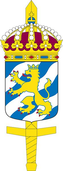 Coat of arms (crest) of the Military Region West, Sweden