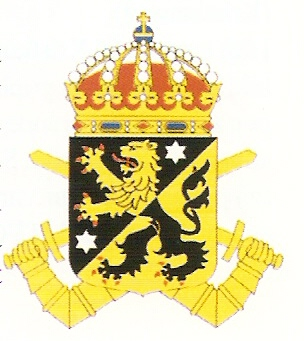 Coat of arms (crest) of the 4th Armoured Regiment Skaraborg Regiment, Swedish Army