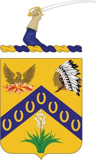 Arms of 7th Cavalry Regiment, US Army