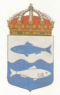 Coat of arms (crest) of the HMS Iggö, Swedish Navy