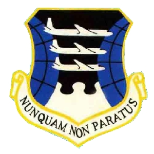 Coat of arms (crest) of the 1611th Air Transport Wing, US Air Force