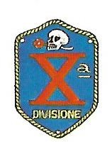Coat of arms (crest) of the Xth MAS Division, Italian Navy