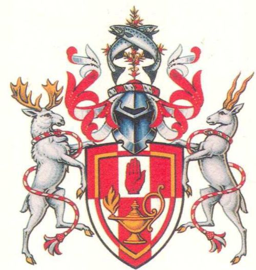 Arms of University of Ulster