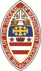 Arms (crest) of Diocese of Washington (D.C.)