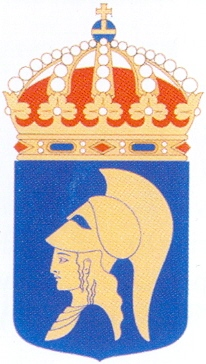 Coat of arms (crest) of the Army Leadership Centre, Swedish Army