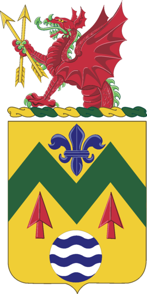 Arms of 528th Support Battalion, US Army