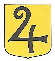 Coat of arms (crest) of the 124th Company, 12th Motorized Rifle Battalion, Swedish Army