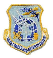 Coat of arms (crest) of the Great Falls Air Defence Sector, US Air Force