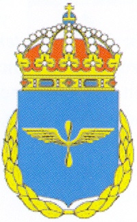 Coat of arms (crest) of the 20th Wing Air Force Uppsala Schools