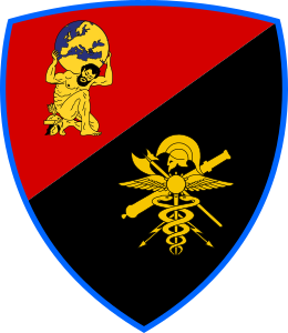 Coat of arms (crest) of the Logistic Support Command, Italian Army