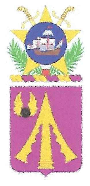 Arms of 782nd Support Battalion, US Army