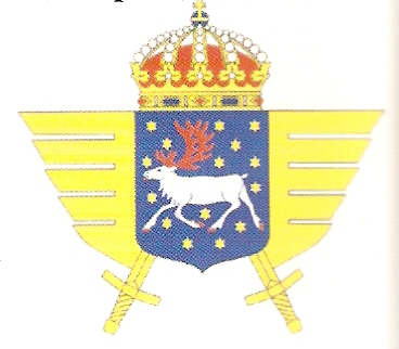 Coat of arms (crest) of the 1st Army Flying Battalion Norrbotten Army Flying Battalion, Swedish Army