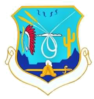 Coat of arms (crest) of the Albuquerque Air Defense Sector, US Air Force
